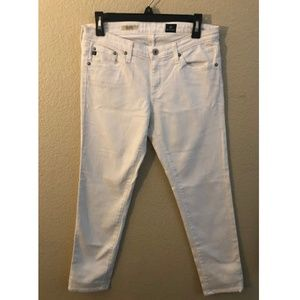 AG Adriano Goldschmied Stilt White Skinny Jeans